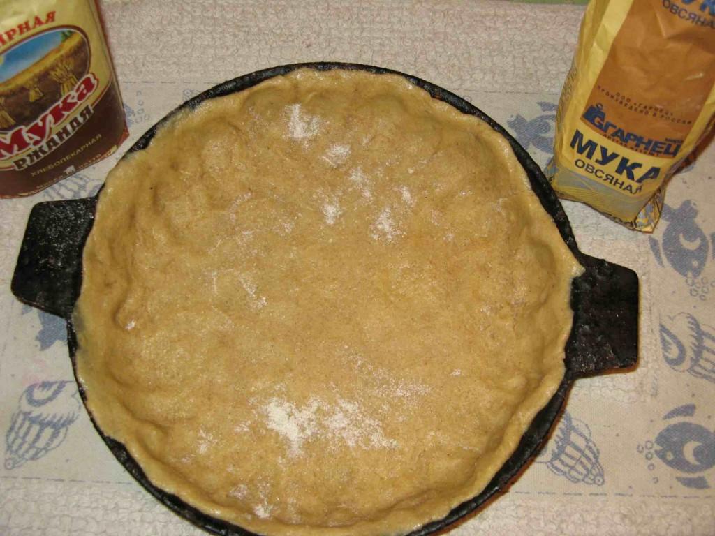 тесто для песочного пирога