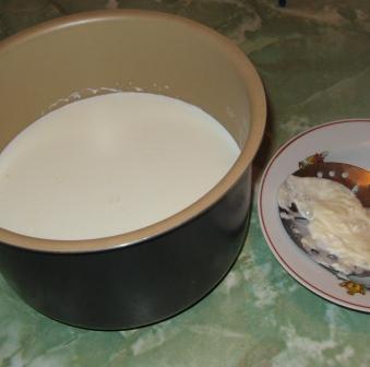 молоко кипятим